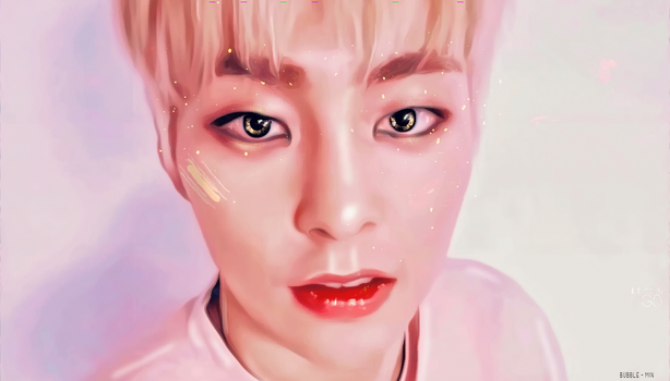 Xiumin / You're Stardust and Dreams by bubble-min