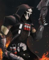 Overwatch - Reaper by DarthPonda