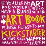 Art Book Kickstarter by thegreck