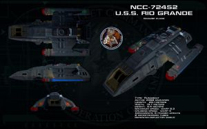 Danube class ortho - USS Rio Grande by unusualsuspex