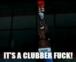 CLUBBER LANG GLITCH AVGN by dogtagmike