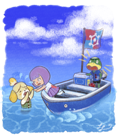 Isabelle Overboard! by LyndseyLittle