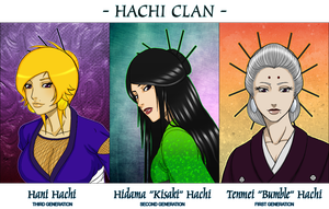 The Hachi Clan by mongrelmarie