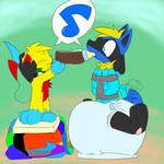 Achivement Unlocked: Border Collie's Bottle by Drayko-the-Pyro