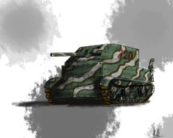 Tanque panzer bosta mk III by Killman-sama