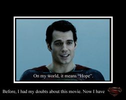 Man of Steel Motivational by ranwolf1976