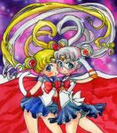 Two Sailor Moons by OakJum9014