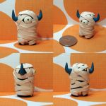 Timid Mummy Monster by TimidMonsters