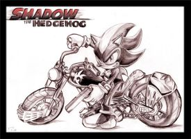 SHADOW drawing by Fission07