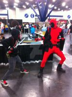 Vanish vs deadpool! by andrew-comer