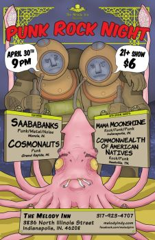 Rock Show Poster by Gargantuan-Media