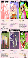 commission prices! (open) by asheds