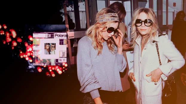 Mary-Kate and Ashley Olsen by GladnessGalvin