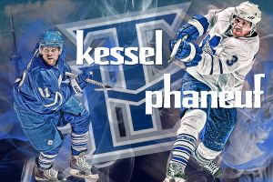Phil Kessel and Dion Phaneuf by shizzle68