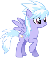Cloudchaser vector - MLP:FiM by Serginh