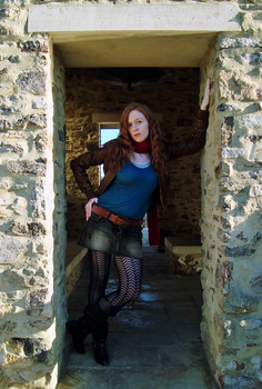 Amy Pond - Vamping in Venice by freyalise