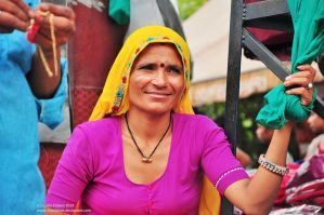 Indian woman by impulsives