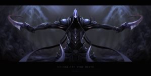 Malthael - No one can stop death by KatRoart