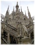 Milan- 'On the Dome's tip' by velphinx