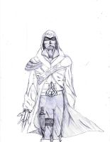 French Assassin Stephano Sketch by THAT1guyinmyCAR