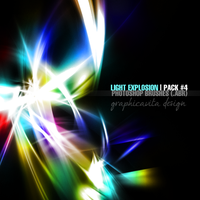 Light Explosion Pack #4 [Ps Brushes] by graphicavita