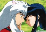 Inuyasha and Kagome by ElvesAteMyRamen