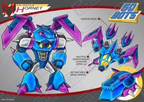 Gobots Animated Hornet by PWThomas