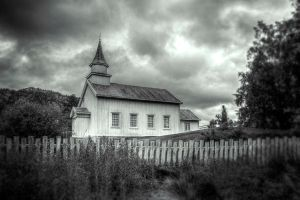 ..the chapel... by Espen-Alexander