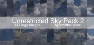 Unrestricted Sky Pack 2 by emothic-stock