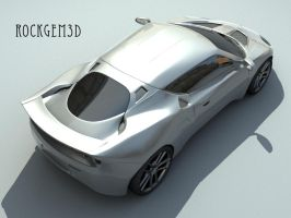 Textured Lotus Evora 5 by rockgem3d