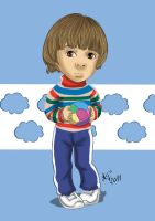 Santiago Caricature by anapeig