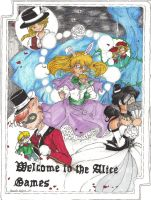 Welcome to the Alice Games by AcronaSilverfox