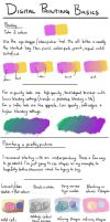 Digital painting basics by Penny-Dragon
