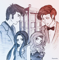 Doctor Who - When Darkness Comes by Psyconorikan