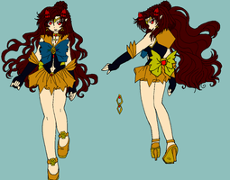 Aphrodytie Ren - Manga Halcyonmoon Reference Color by JATGProductions