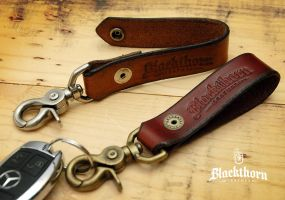 Key-Fob-Clip2 by Blackthornleather