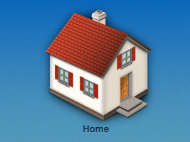 Home icon 1 by wakaba556