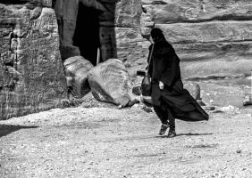 People in Petra 5 by ShlomitMessica