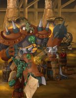 WOW-Goblin Factory by shaotemp