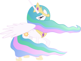 Princess Celestia by KalleFlaxx