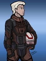 Space Pilot - Colored by archaznable30