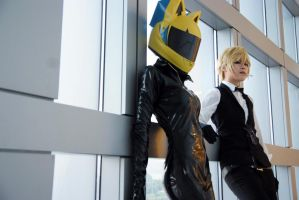 Celty and Heiwajima Shizuo by yui930
