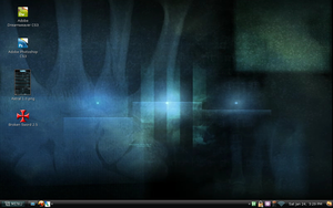 Desktop: Front view by DLKreations