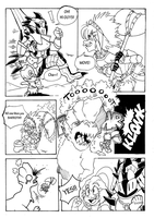 Training hall - Monster Hunter fanComic page 2 by Grethe--B