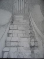 The Stairway by crackerboxx