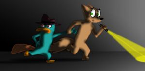 Running Away From A Ghost by AgentBengalTiger