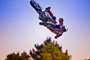Freestyle Motorcycle Jump by noelholland