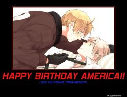 Happy Birthday America by Arche-klein