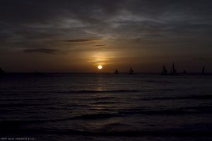 Boracay: sunset 03 by ninjapeps