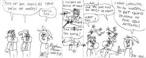 Tad, Chad, Timmy Turner and a bottle of cola by stephdumas